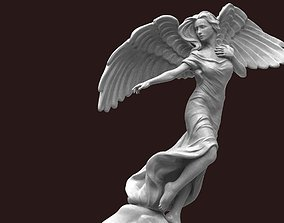 woman Angel Statue 3D print model