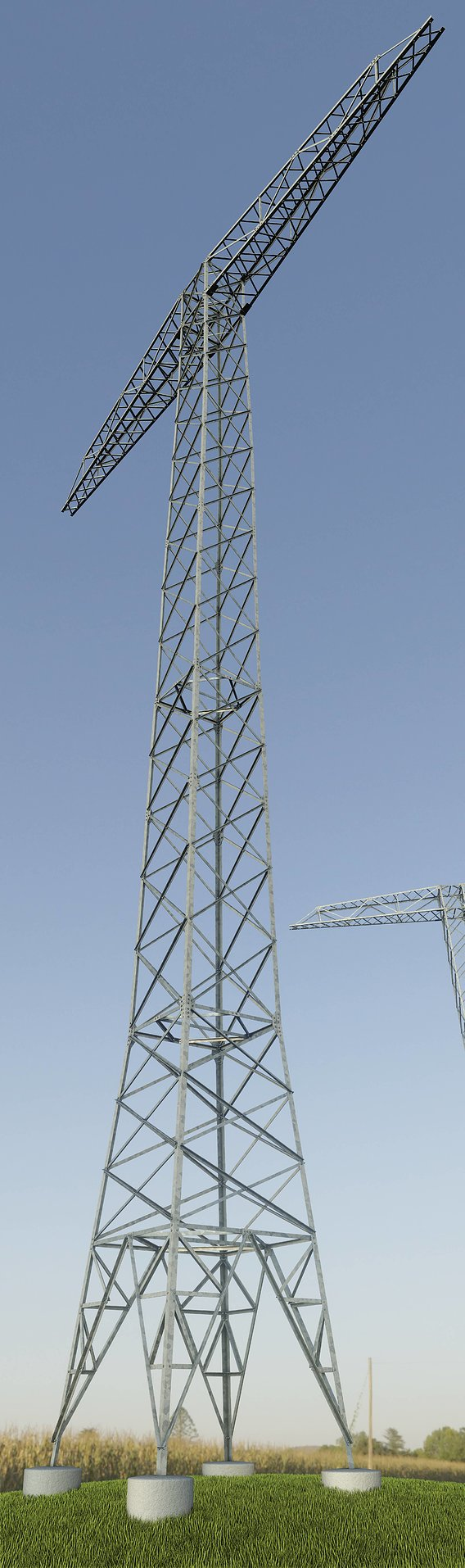 Transmission Tower 32 Meter