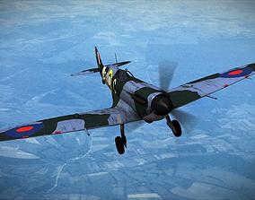 3D model SUPERMARINE SPITFIRE MK VB 130th Squadron