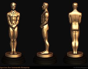 3D printable model Figurine for Leo Oscar