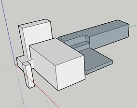 3D print model set of cuboids
