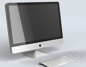 3D model Apple iMac 27 Desktop Computer