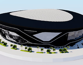 3D model Allegiant Stadium - Las Vegas Raiders USA