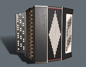 Accordion 3D model