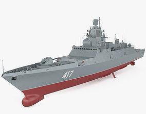 Admiral Gorshkov-class frigate 3D