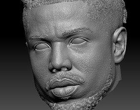 3D print model Erik Killmonger Michael B Jordan HEAD