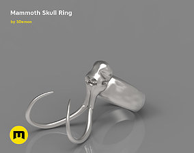 3D printable model Mammoth Skull and Ring