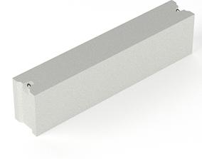 3D asset Concrete Block Foundation various size 18