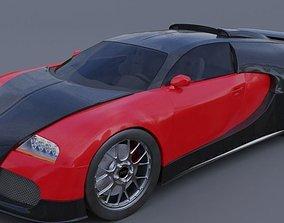 bugatti veyron luxury 3D