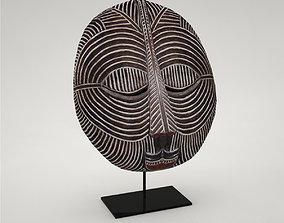 Decorative Object Mask Songye 3D