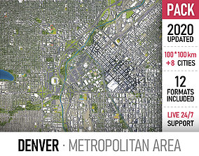 3D Denver Metropolitan Area