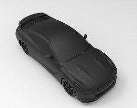 Nissan GT-R SpecV R35 3D printable model