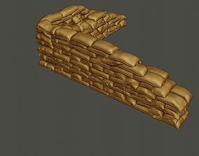 3D printable model SandBags 007