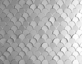 3D model Deko Wall Scale Tile