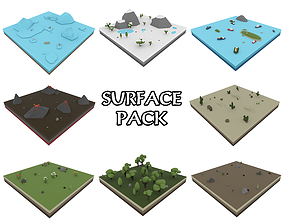 3D model Nature Surface Pack