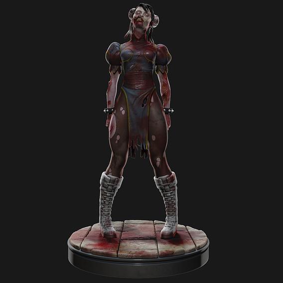 Chun li zombie
