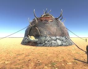 3D model Boneskin Hut 1
