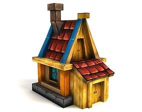 Fairy house 3D model