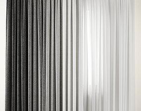 3D model Curtain 88