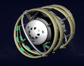 Starship Pegasus 3D model
