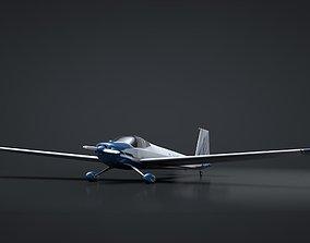 3D Scheibe Falke SF-25 Motorglider Rigged