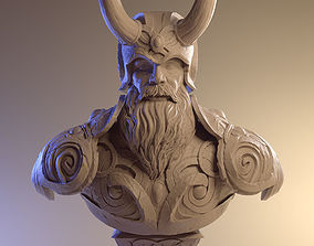 Viking - 3d model bust