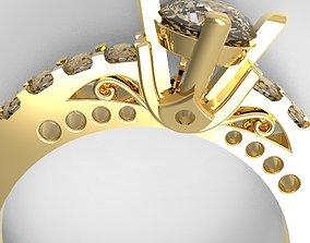 Engagement Ring 3D printable model diamond-ring