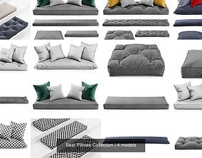 Seat Pillows Collection 3D