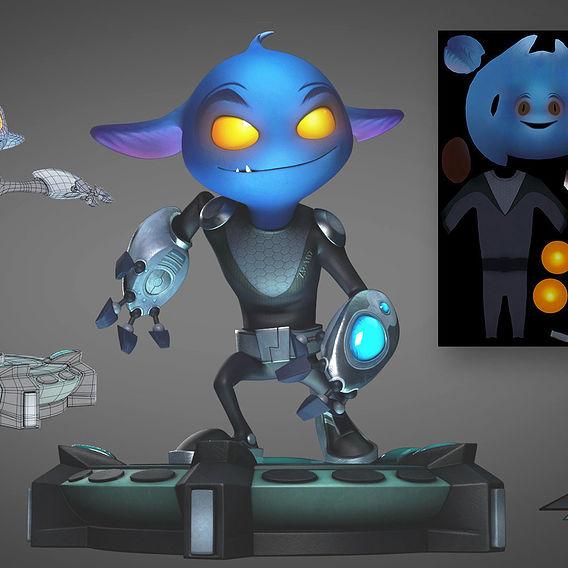 Zapp – The Small Alien