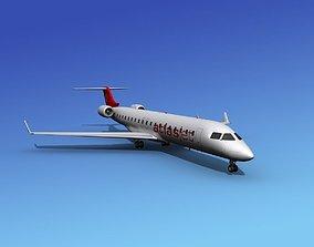 Bombardier CRJ700 Atlas Jet 3D