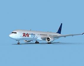 3D model Boeing 767-400 Arkfly