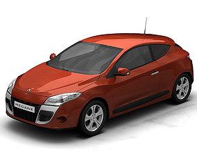 3D model 2009 Renault Megane Coupe