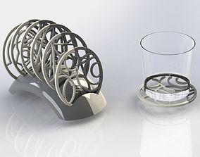 3D printable model GEOMETRICAL COASTERS
