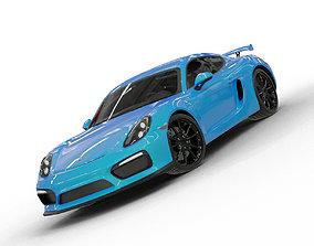2020 Porsche 718 Cayman GT4 3D