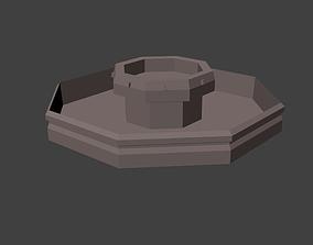 Fountian 3D asset
