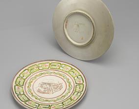 PBR Italian Platter PBR Corona 3D Model