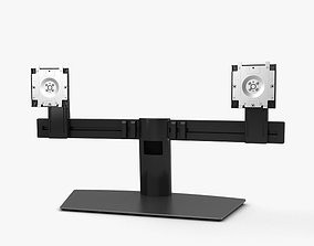 3D model Dell Dual Monitor Stand MDS19