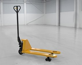 3D Hand pallet truck - real size