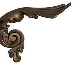 3D print model door handle
