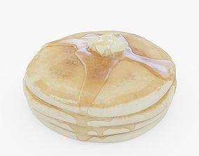 Pancakes 3D model realtime PBR
