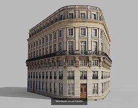 Parisian buildings 3D