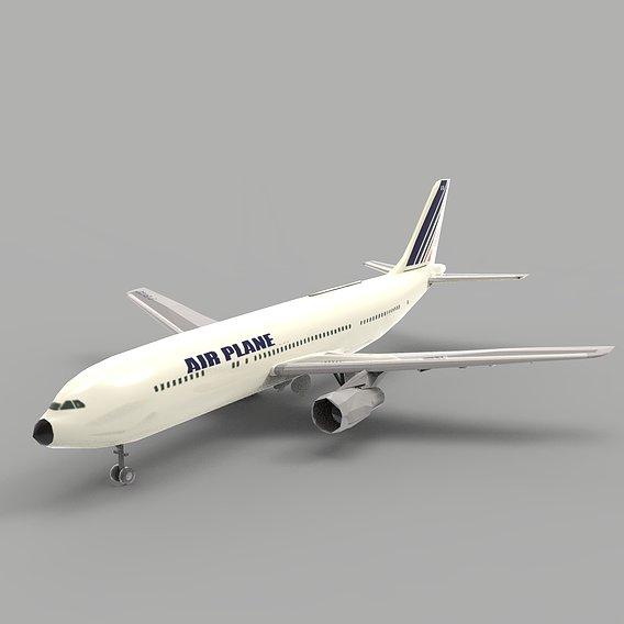A350 Airbus Plane
