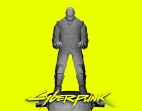 3D printable model Cyberpunk 2077- Royce joystick and 1