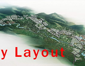 3D model Posh Urban City Layout