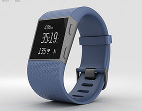 Fitbit Surge Blue 3D model