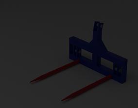 Fleming Bale spike 3D model