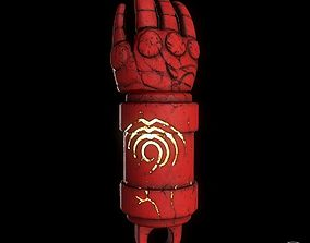 3D print model hellboys Right Hand Of Doom prop for