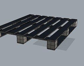 3D printable model Pallet tunel
