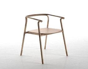 3D minimalist Splinter Chair