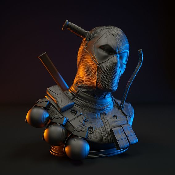 Deadpool Bust